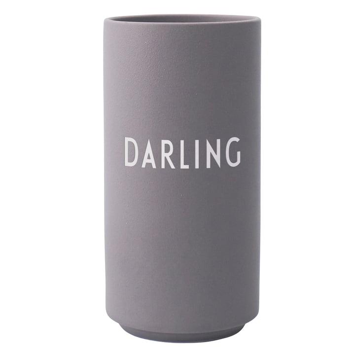 AJ Favourite Porzellan Vase von Design Letters, Darling / dusty purple