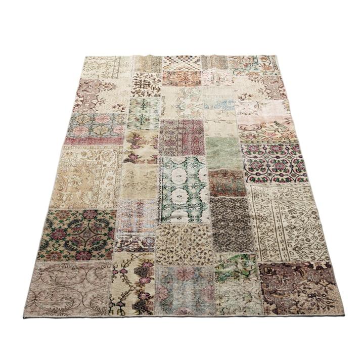 Der Vintage Teppich von Massimo, 170 x 240 cm, hellnatur