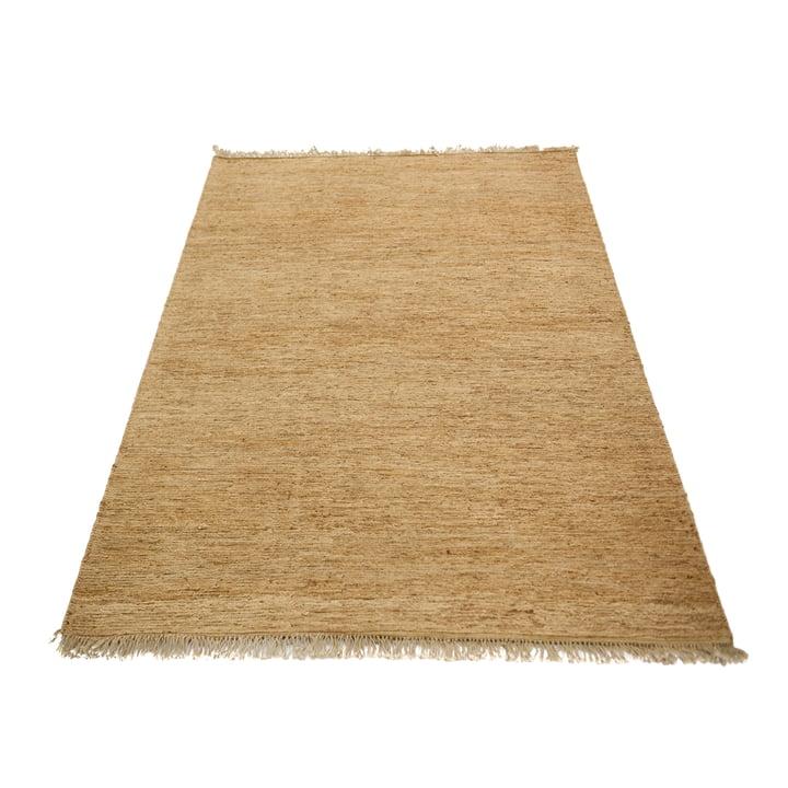 Der Sumace Teppich mit Fransen von Massimo, 170 x 240 cm, natur
