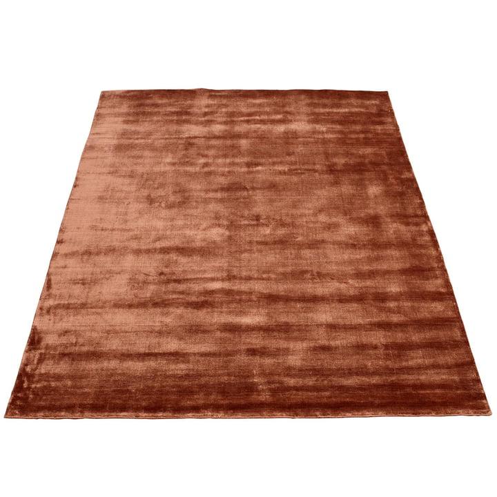 Der Bamboo Teppich von Massimo, 250 x 300 cm, Kupfer