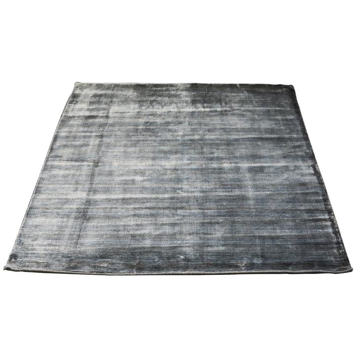 Der Bamboo Teppich von Massimo, 250 x 300 cm, grau
