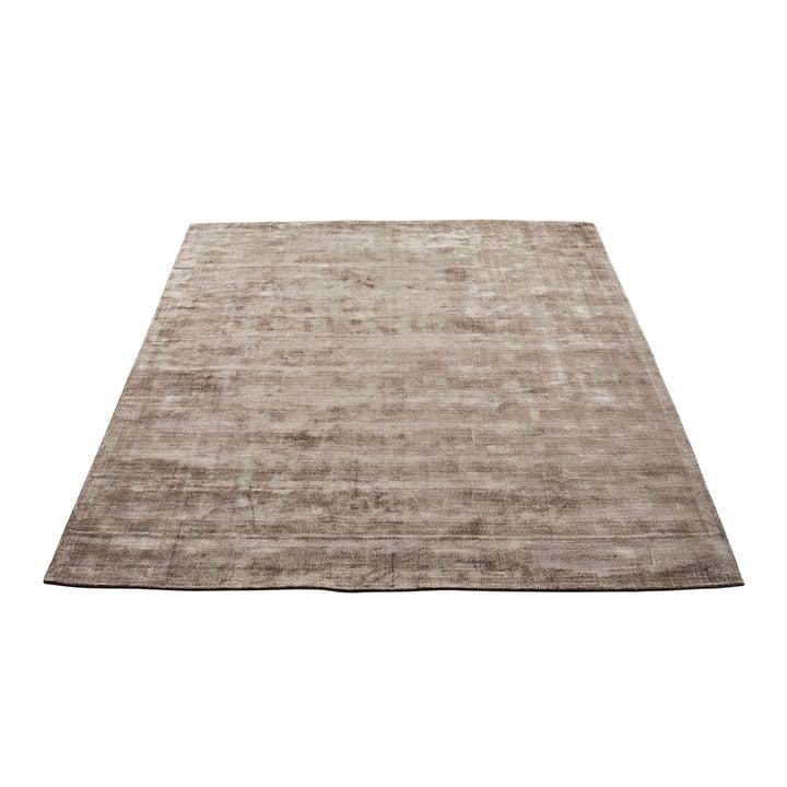Der Karma Teppich von Massimo, 160 x 230 cm, nougatbraun