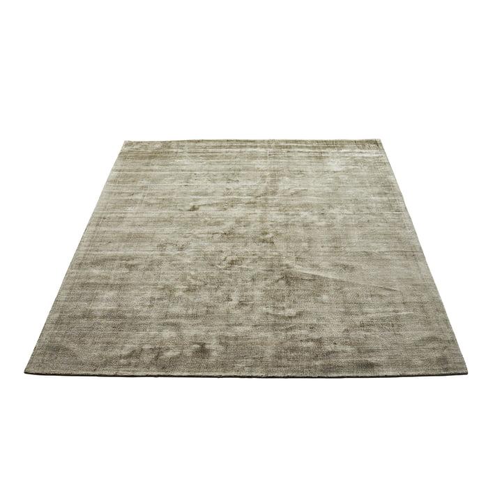 Der Karma Teppich von Massimo, 160 x 230 cm, olivgrün