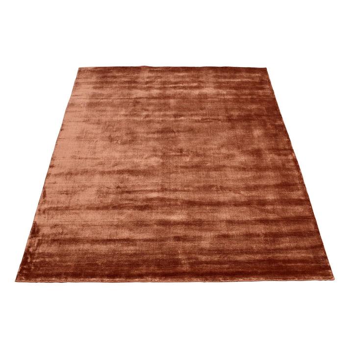 Der Bamboo Teppich von Massimo, 170 x 240 cm, Kupfer