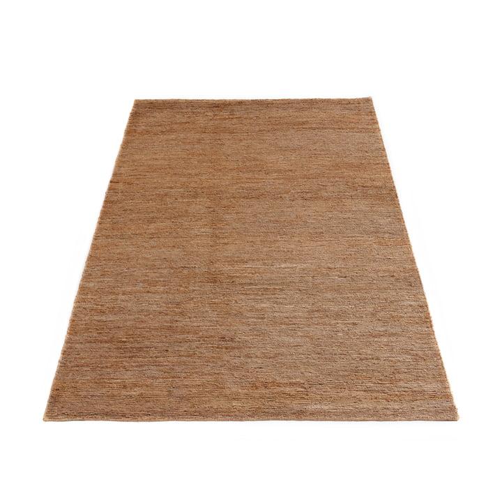 Der Sumace Teppich ohne Fransen von Massimo, 170 x 240 cm, natur
