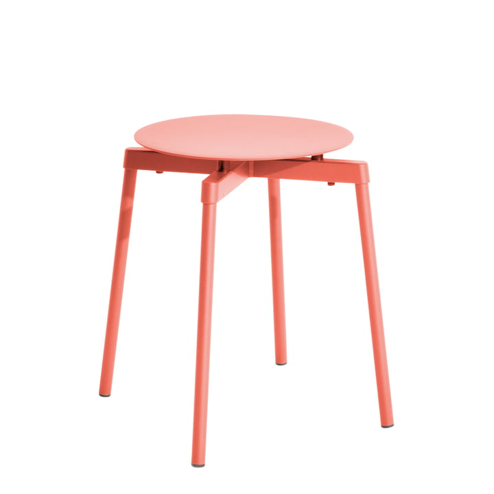 Fromme Hocker Outdoor von Petite Friture in coral