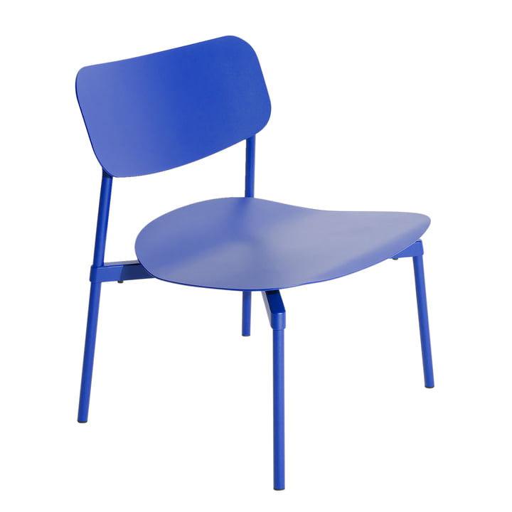 Fromme Lounge Stuhl Outdoor von Petite Friture in blau