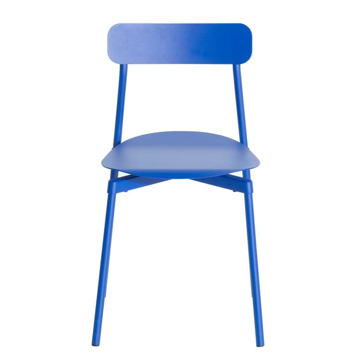 Fromme Stuhl Outdoor von Petite Friture in blau