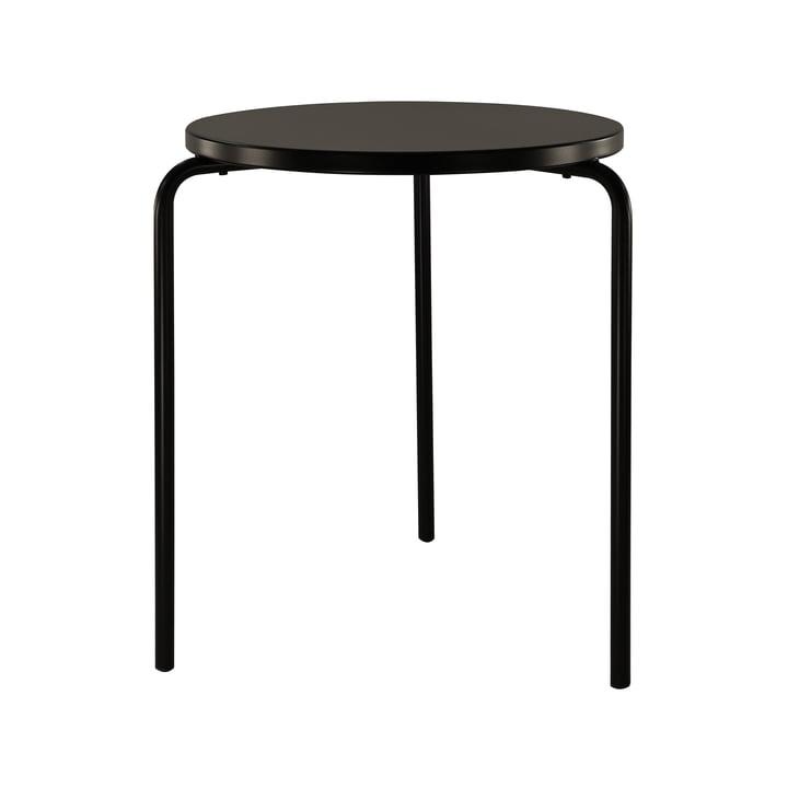 Easy Tisch Ø 58 cm von Jan Kurtz in schwarz