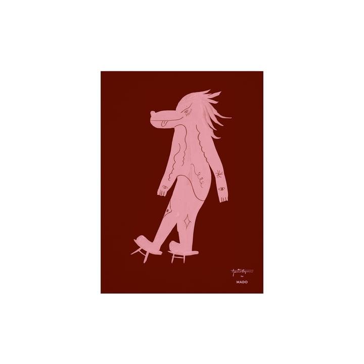 Das Wolfoz Poster von Paper Collective, 30 x 40 cm