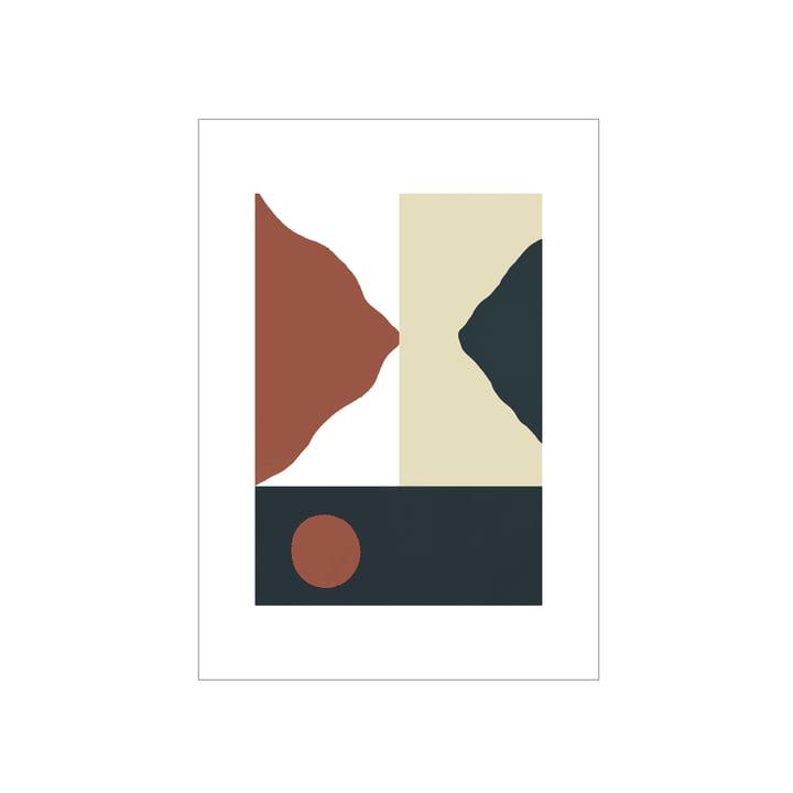 Das Big Sur Poster von Paper Collective, 50 x 70 cm