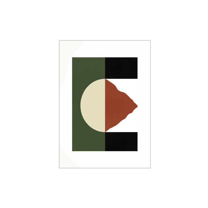 Das Mountain Poster von Paper Collective, 30 x 40 cm