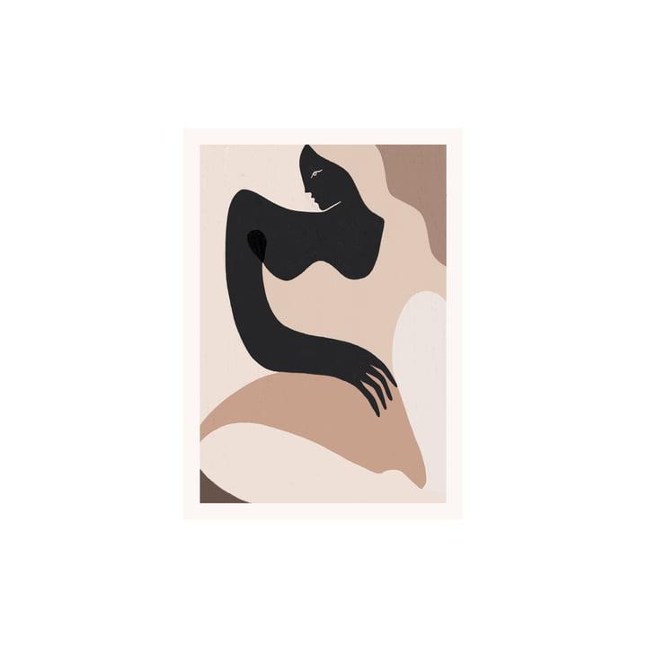 Das Siren Poster von Paper Collective, 30 x 40 cm