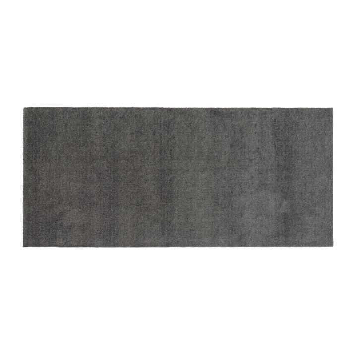 Fußmatte 90 x 200 cm von tica copenhagen in Unicolor stahlgrau