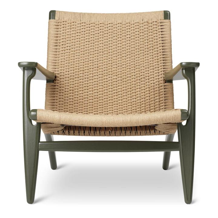 Der CH25 Sessel von Carl Hansen, seaweed / natur