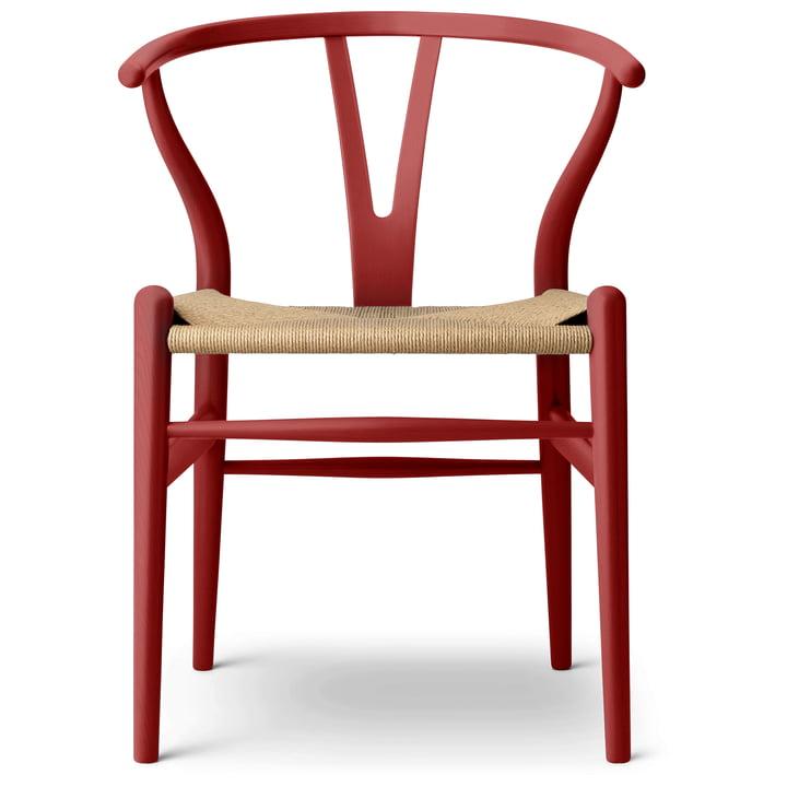 Der CH24 Wishbone Chair von Carl Hansen, falu / Naturgeflecht (limitierte Edition)