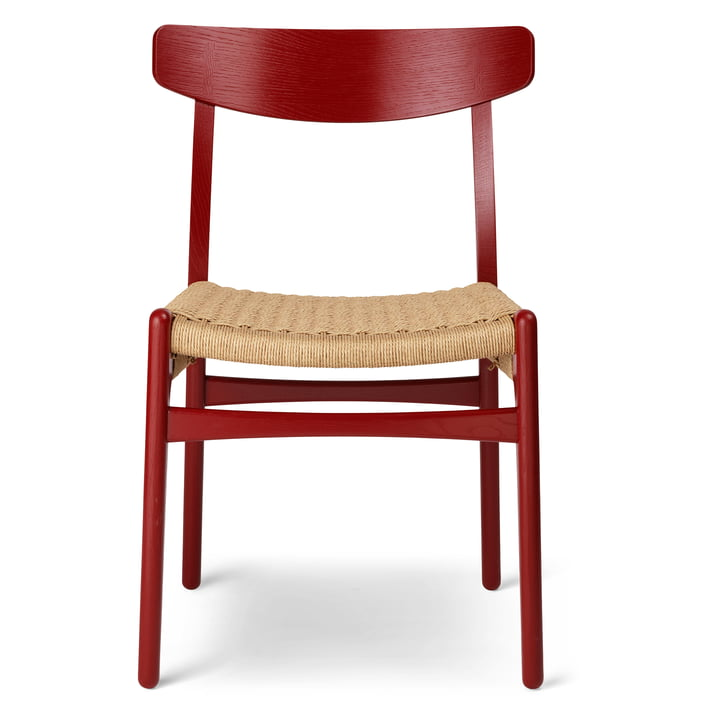 Der CH23 Chair von Carl Hansen, falu / Naturgeflecht (limitierte Edition)