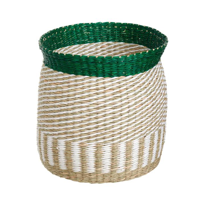 Der Silkkikuikka Aufbewahrungskorb S von Marimekko, seegras