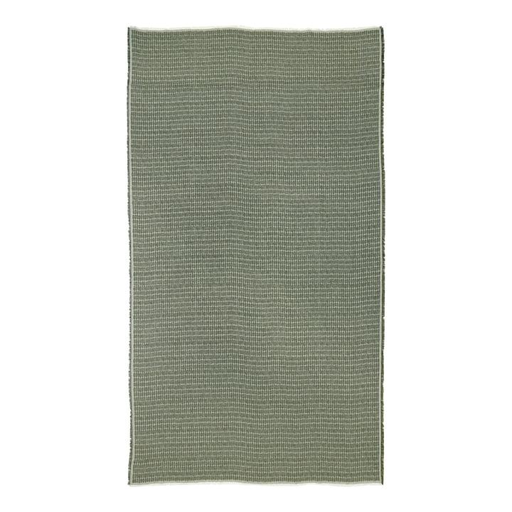 Die Alku Tischdecke von Marimekko, 140 x 180 cm, leinen / grün (Herbst 2021)