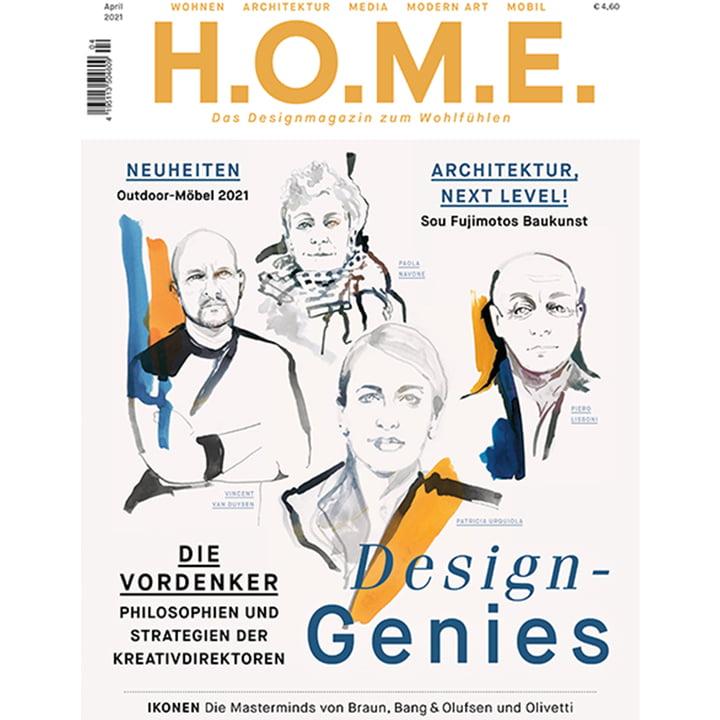 H.O.M.E. Designmagazin - April 2021