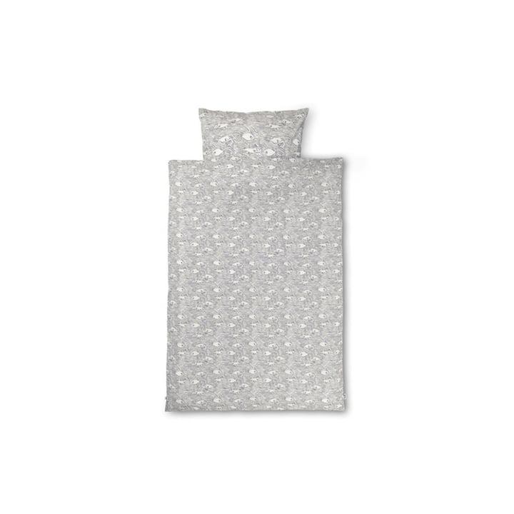 Stream Kinderbettwäsche 100 x 140 cm von ferm Living in off-white