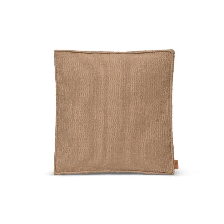 Desert Sitzkissen 38 x 38 cm von ferm Living in der Farbe sand