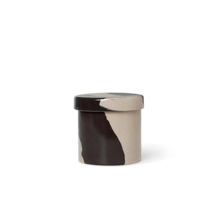 Inlay Steinzeug Behälter Ø 9,8 cm von ferm Living in sand / braun