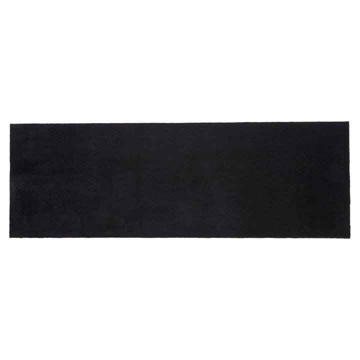 Fußmatte 67 x 200 cm von tica copenhagen in Unicolor schwarz