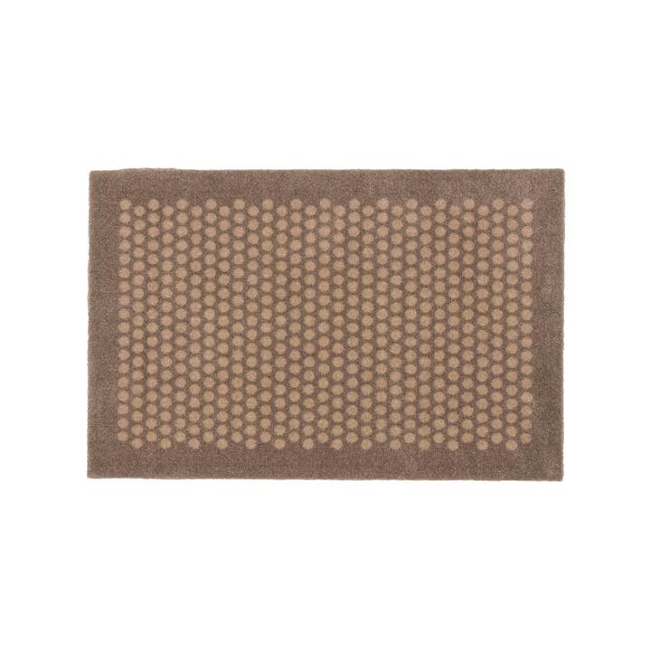 Dot Fußmatte 45 x 75 cm von tica copenhagen in sand / beige