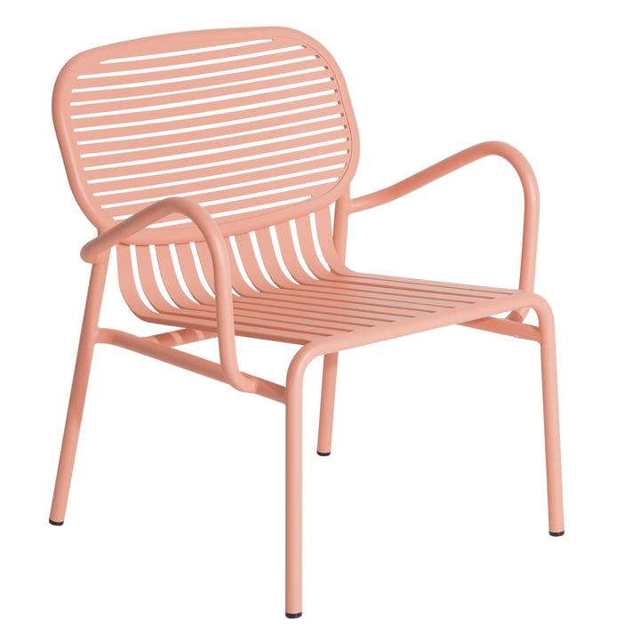 Der Week-End Outdoor Sessel von Petite Friture, blush
