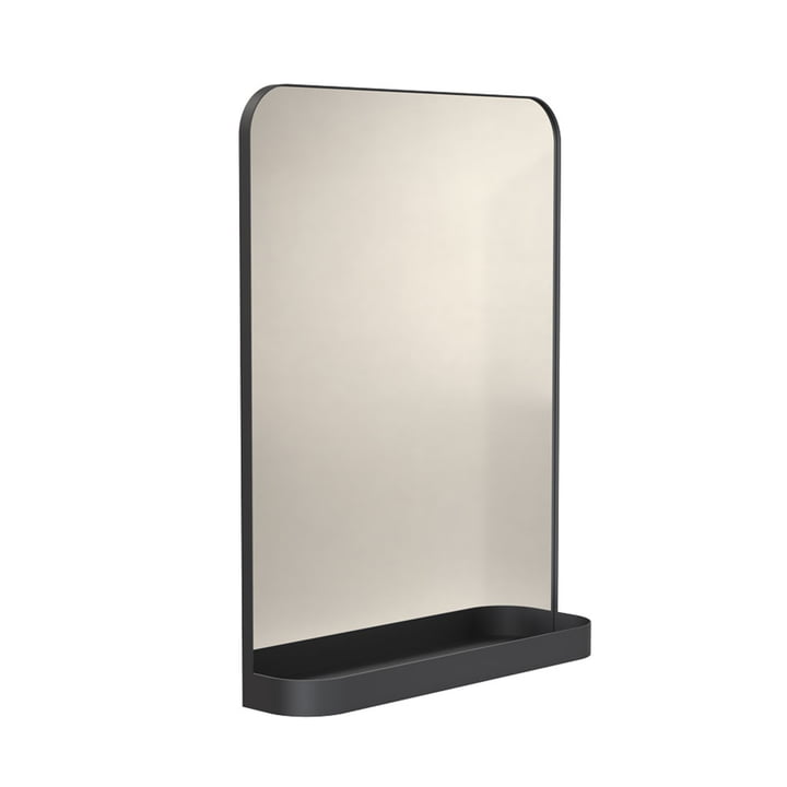 Der Signatures TB600 Spiegel mit Ablage von Frost, schwarz