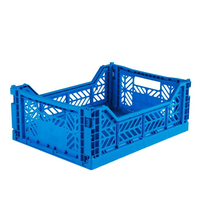 Faltkiste Midi 40 x 30 cm von Aykasa in electric blue