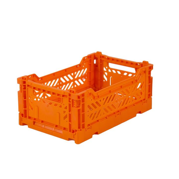 Faltkiste Mini 27 x 17 cm von Aykasa in orange