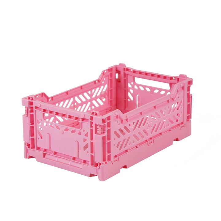 Faltkiste Mini 27 x 17 cm von Aykasa in baby pink
