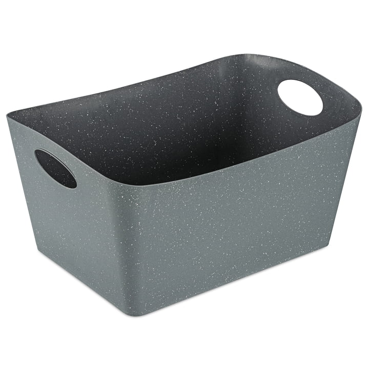 Boxxx L Aufbewahrungsbox (Recycelt) von Koziol in nature grey