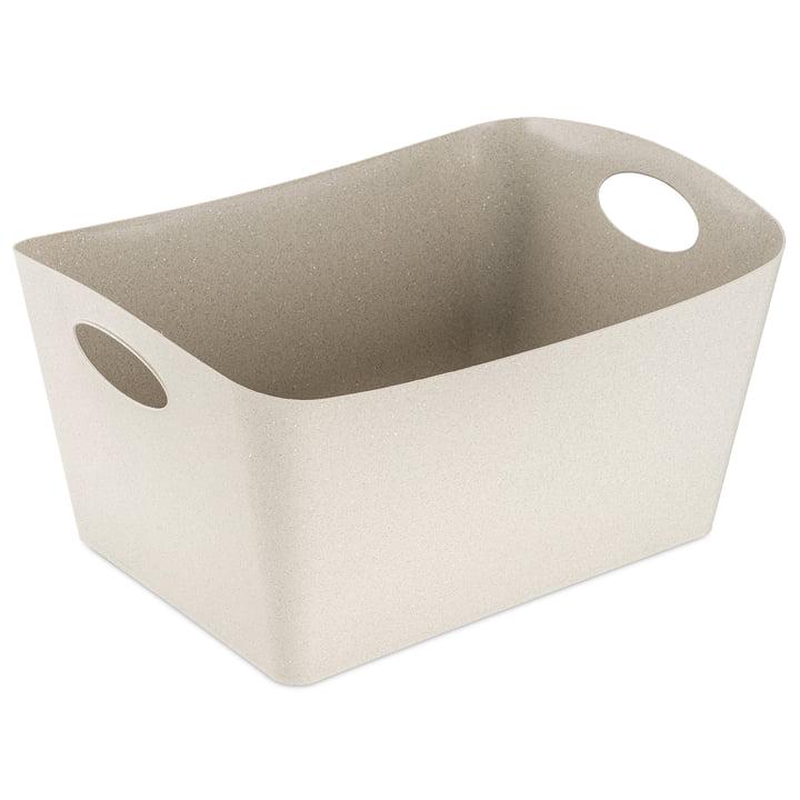 Boxxx L Aufbewahrungsbox (Recycelt) von Koziol in der Farbe desert sand