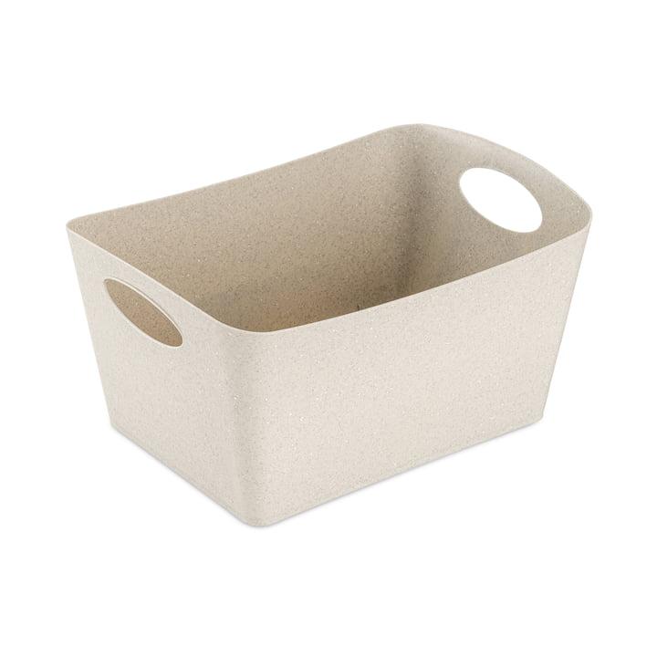 Boxxx M Aufbewahrungsbox (Recycelt) von Koziol in der Farbe desert sand