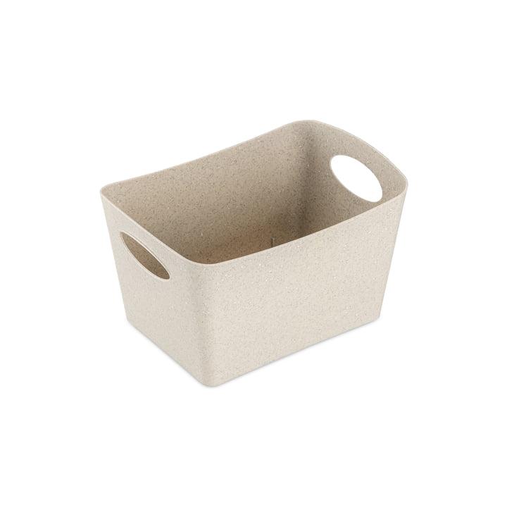 Boxxx S Aufbewahrungsbox (Recycelt) von Koziol in der Farbe desert sand