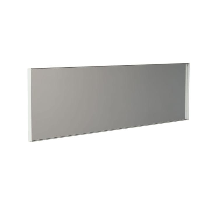 Der Unu Wandspiegel 4137 mit Rahmen von Frost, 40 x 140 cm, weiß