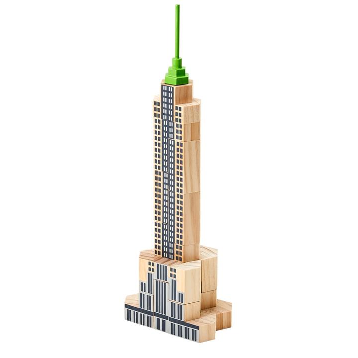 Blockitecture New York City Bausteine von Areaware in der Variante Skyscraper