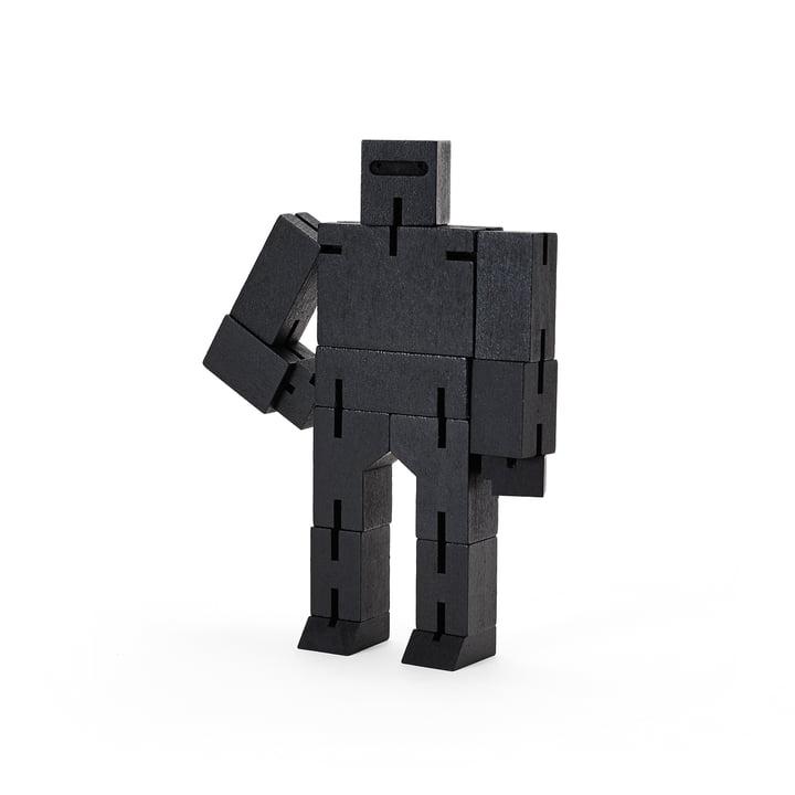 Cubebot klein von Areaware in schwarz