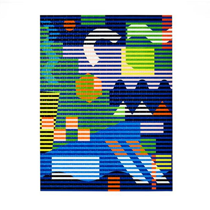 Pattern Puzzle von Areaware in der Variante lenticular (500-tlg.)