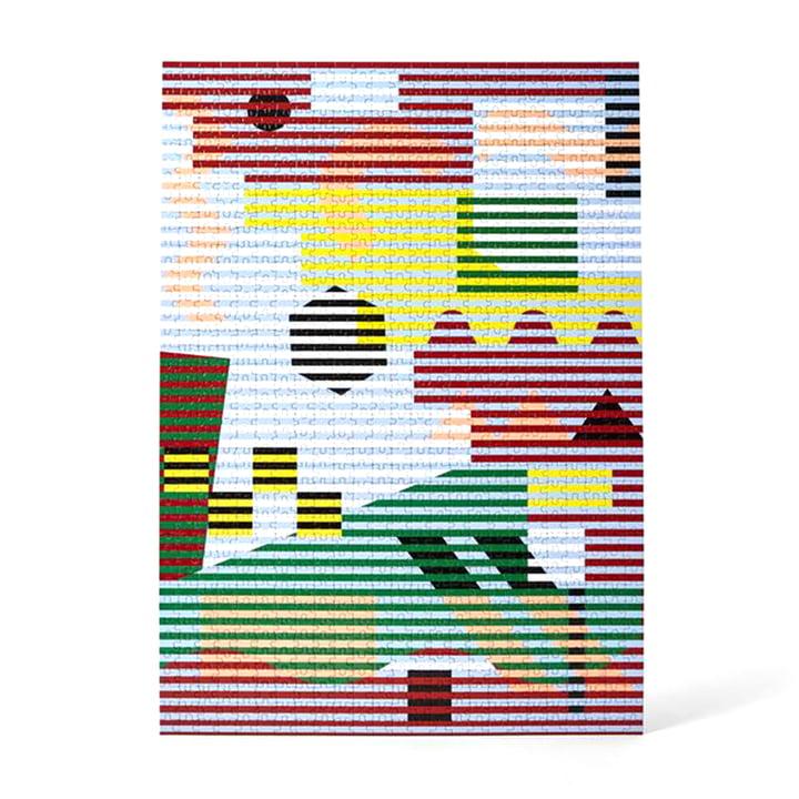Pattern Puzzle von Areaware in der Variante lenticular (1000-tlg.)