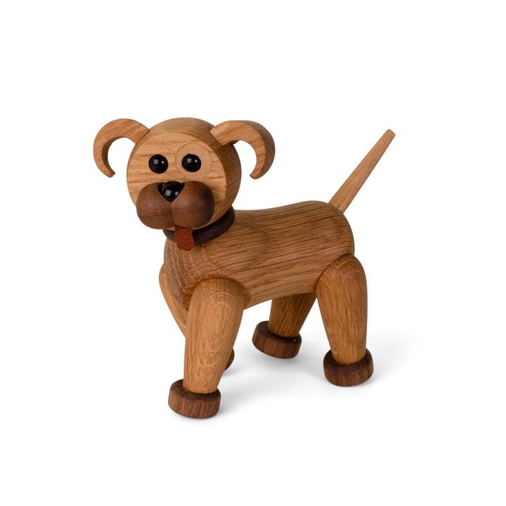 Hundewelpe Holzfigur Woody von Spring Copenhagen