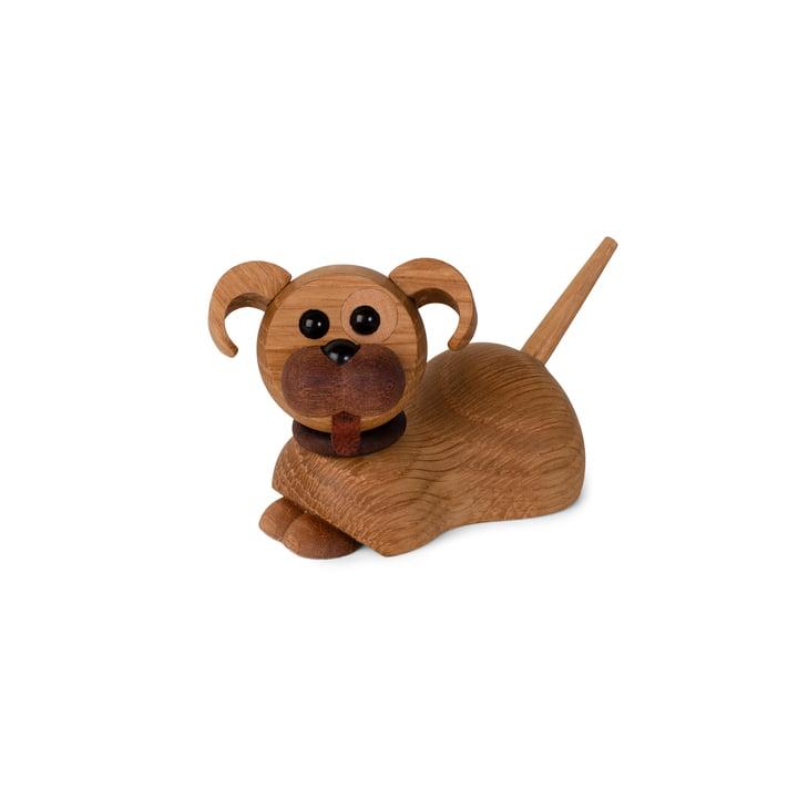 Hundewelpen Holzfigur Coco von Spring Copenhagen