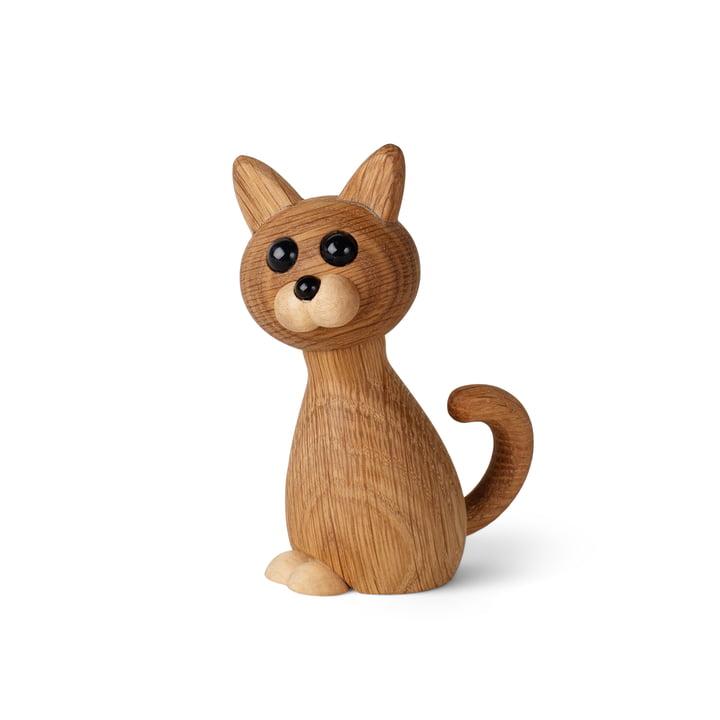 Kätzchen Holzfigur Faith von Spring Copenhagen