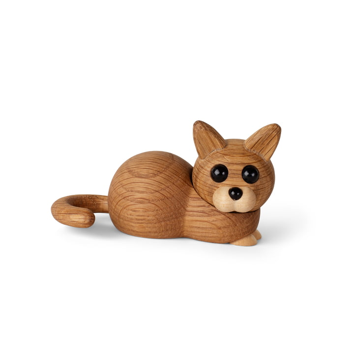 Kätzchen Holzfigur Hope von Spring Copenhagen