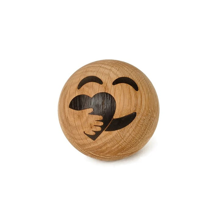 Spring Emotions Holz Emoticon von Spring Copenhagen in der Variante Kümmerer