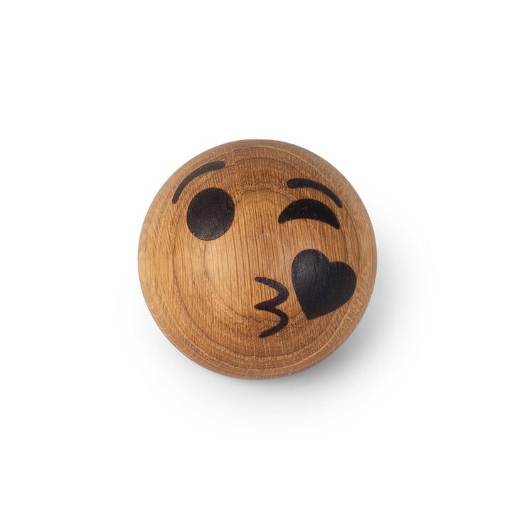 Spring Emotions Holz Emoticon von Spring Copenhagen in der Variante Kuss