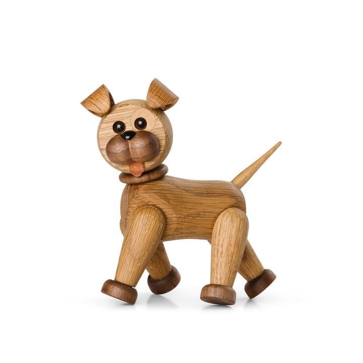 Happy the Dog Holzfigur von Spring Copenhagen
